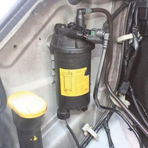 Troca do Filtro de Partículas Diesel